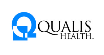 Qualis logo in blue